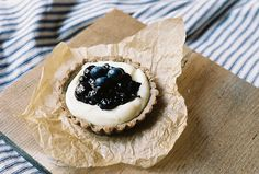 Blueberry Buckwheat Tartlets with Greek Yogurt Cream by yossy | apt2bbakingco, via Flickr