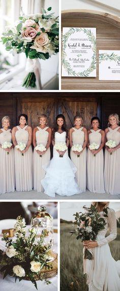 Neutral wedding colors