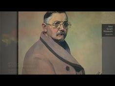 Félix Vallotton: Self-portrait in dressing gown