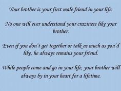 A Brothers Love♥