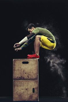 Reebok 'Fitness in Motion' campaign featuring #Crossfit athlete, Garret Fisher