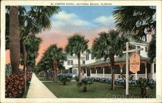 El Cortez Hotel Daytona Beach Florida