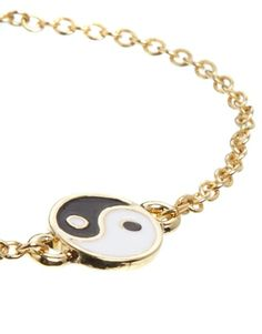 Ying Yang Bracelet #gold #accessories