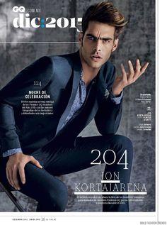 Male Fashion Trends: Jon Kortajarena para GQ México Diciembre 2015