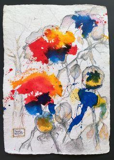Aquarell auf Büttenpapier, 56 x 38 cm by marian hergouth Artwork, Painting, Artworks, Watercolor, Work Of Art, Auguste Rodin Artwork, Painting Art, Paintings, Painted Canvas