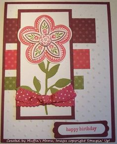 Triple Treat Birthday by Muffin's Mama - Cards and Paper Crafts at Splitcoaststampers