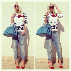 Jelena Karleusa, Love Hello Kitty, nice!