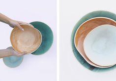 Laurette Broll Barge Interior, Ceramic Tableware, Artisanal, Creations, Tableware