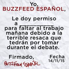Twitter Image for @BuzzFeedEspanol to use for 2015 Argentina presidential debates