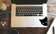 Black cat decal sticker by UrbanVinylStickers on Etsy