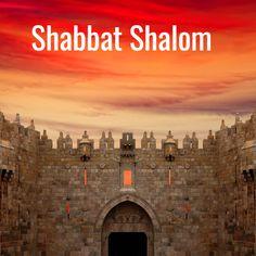 Shabbat Shalom from Capital of Israel - Jerusalem 🇮🇱 Jerusalem Old City - Damascus Gate! God Bless you all! Happy Sabbath Images, Damascus Gate, Good Shabbos, Shavua Tov, Hebrew Words, Shabbat Shalom, Jerusalem Israel, It's Going Down, Judaism