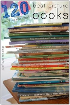 Best Picture Books for Children - Wildflower Ramblings