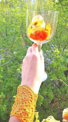 Crochet orange lace bracelet, handmade jewelry, boho chic, sophisticated bracelet, gift ideas for women, nomad wide wristband, hippie wear Bohemian Bracelets, Handmade Bracelets, Handmade Jewelry, Lace Bracelet, Crochet Bracelet, Halloween Jewelry, Halloween Accessories, Fall Jewelry, Boho Jewelry