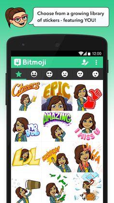 Bitmoji - Your Avatar Emoji for Android  - Freepps.top