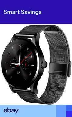 657866794fe Fitness Heart Rate Monitor Bluetooth Touch Smart Watch For Android iOS K88H