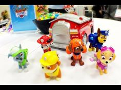 Paw Patrol toys from Spinmaster Paw Patrol Figures, Paw Patrol Toys, Paw Patrol Party, Paw Patrol Birthday, Birthday Bash, Birthday Ideas, Christmas 2014, Best Christmas Gifts, Paw Patrol Cake Toppers