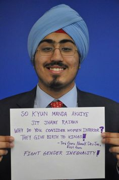 So kyun manda akhiye jit jhame rajaan.  Why do you consider women inferior?  | Sikhpoint.com