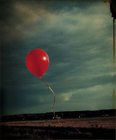 after the party there are just lonely, deflating balloons drifting around the hospital, haunting the corridors Photo Balloons, Inspirational Blogs, Summer Sky, Red Balloon, Red Color, Amazing Photography, Cool Pictures, Abstract, Painting