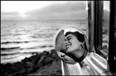 Extreme beauty is not possible to know but through a mirror. Medusa myth.  Elliott Erwitt Magnum Photos Home
