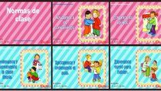 Normas para infantil, Preescolar y Primaria. Imprimibles