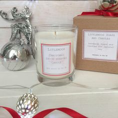 Christmas Candle, Christmas Spice Candle, Scented Candle, Stocking Filler, Christmas Gift by LittleMoosSoaps on Etsy https://www.etsy.com/uk/listing/544983014/christmas-candle-christmas-spice-candle