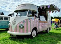 ice cream hippie vw bus... I could make a little extra money