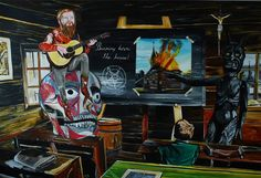 Burning down the house 2013 Paintings, House, Art, Art Background, Paint, Home, Painting Art, Kunst, Performing Arts