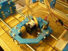Inkjet Powder) printer by dragonator - Thingiverse Inkjet Printer, 3d Printer, Beaglebone Black, Prusa I3, Arduino, 3 D, Powder, Learning, Printed