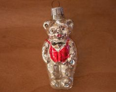 Christmas Ornament // Teddy Bear Ornament
