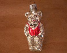 Christmas Ornament // Teddy Bear Ornament