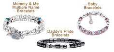 Baby bracelets site offers you all about baby bracelets and Pride Bracelet, Baby Bracelet, Mommy And Me, Beaded Bracelets, Jewelry, Jewlery, Bijoux, Pearl Bracelets, Jewerly