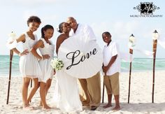 beach wedding on a budget