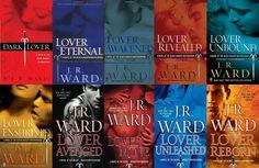 Black Dagger Brotherhood Series by J. R. Ward