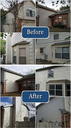 A beautiful replacement siding project completed by Community Builders!