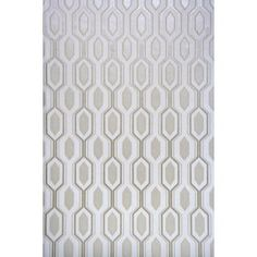 The wallpaper Marais White/White - from Mimou is wallpaper with the dimensions m x m. The wallpaper Marais White/White - belongs to the White Wallpaper, Geometric Wallpaper, How To Dress A Bed, Swedish Brands, Paper Background, Metallica, Carpet, Cushions, Rugs