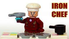 Lego Iron Man Cook Dinner 👨🍳🍔 Superhero Fun Animation Ironman come to the kitchen and starts cook. Iron Man make hamburger and french fries. In this animation for kids Iron Man call to his friend Avengers (Hulk, Black Widow, TMNT Mikey) Lego Hulk, Lego Spiderman, Superhero, Lego Ninja Turtles, Teenage Mutant Ninja Turtles, Lego Wolverine, Lego Iron Man, Vitamins For Kids, Hulk Avengers