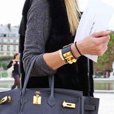 93d770e407cf Hermes bracelet and Birkin handbag