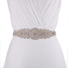 Azaleas Women's Crystal Bridal Bridesmaid Dresses Jewlled Sash Belts Ivory One Size azaleas http://www.amazon.com/dp/B00SHJAIHG/ref=cm_sw_r_pi_dp_HFKMvb0ZGKNN0