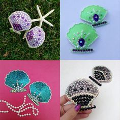 e37ad47500d8a Mermaid rave Pasties Sea Shell Nipple by JrPastiesLove on Etsy. Miss Jie  Couture