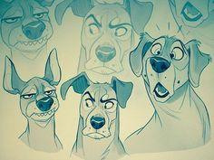 I made three dogs today. #art #digitalart #artist #artwork #vixiearts…