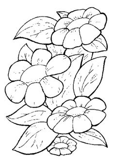 10 Spring Flowers Coloring Pages To Color And Print For Kids Free Printable