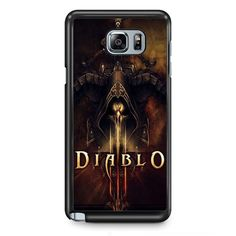 Diablo Games TATUM-3236 Samsung Phonecase Cover Samsung Galaxy Note 2 Note 3 Note 4 Note 5 Note Edge