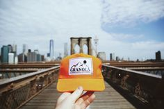 The Granola Hat exploring the Brooklyn Bridge with Casey Hyde