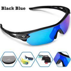 d6ce1feefbc Space Polarized Unisex Sunglasses UV400 BLACK   BLUE