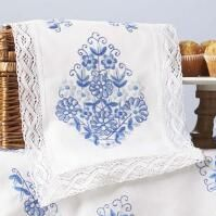 Needlework Sale | Herrschners, Inc. Elegant Table, Table Linens, Table Runners, Needlework, Bed Pillows, Stamp, Kit, Embroidery, Lace