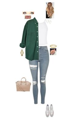 """""""1.8.16"""" by jesshorne2016 ❤ liked on Polyvore featuring New Look, Topshop, Michael Kors, Converse, Cartier and Givenchy"""