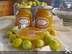 Mirabellenmarmelade (Rezept mit Bild) von sweet-maja | Chefkoch.de