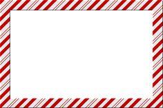 candy cane border clip art free - Google Search