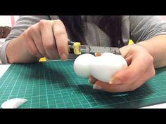 Tutorial como hacer cuerpo mujer fofucha de dos formas diferentes - YouTube