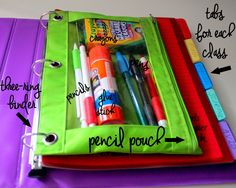 Back-to-school Must Have Supplies + Organization Tips for Teens @ Ya Gotta Have a Hobby #GreatList #sp